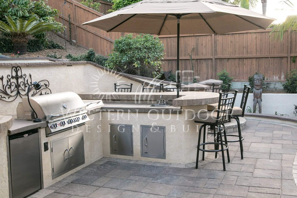 Stucco Finish Bbq Islands Outdoor Kitchens Gallery Western Outdoor Design And Build Serving San Diego Orange Riverside Counties Outdoor Kitchen Design Outdoor Kitchen Appliances
