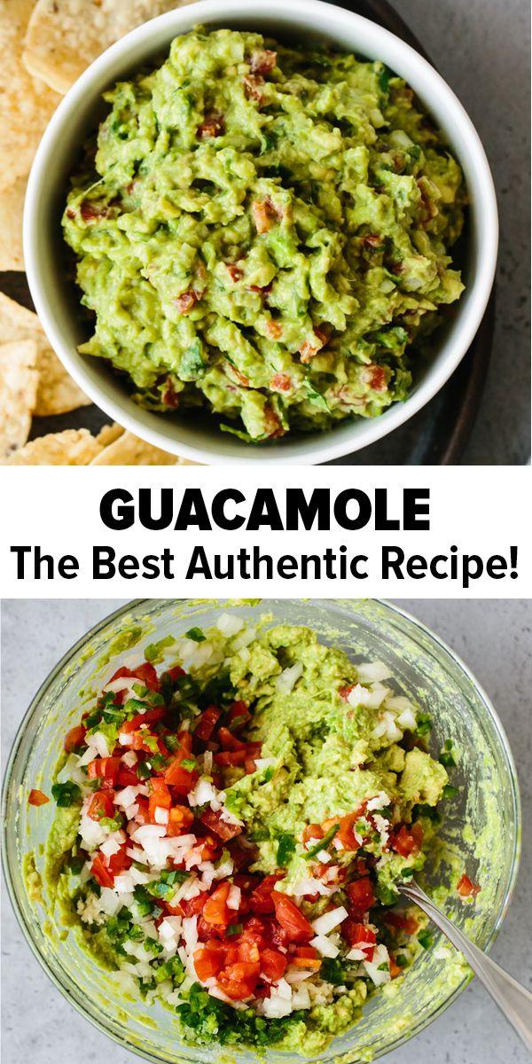 Guacamole Recipe (The BEST!)