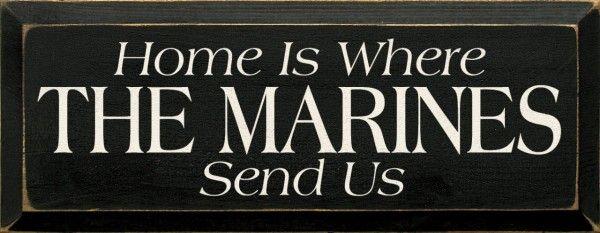 Sawdust City LLC - Home Is Where The Marines Send Us, $22.00 (http://www.sawdustcityllc.com/home-is-where-the-marines-send-us/)