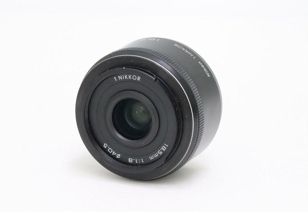 Nikon 1 Nikkor 18 5mm F 1 8 Black Japan Nikon Nikon F 1 Japan