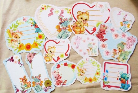 かわいいメルヘンアニマルのメッセージカードのMIXです!写真全部セットでお届け! お誕生日やイベント、お手紙にメッセージが書きこめます!贈る方と贈られる方の、...|ハンドメイド、手作り、手仕事品の通販・販売・購入ならCreema。