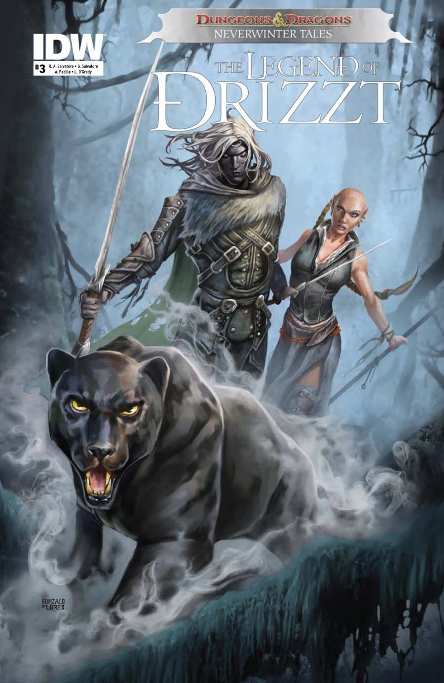 Dungeons & Dragons: Drizzt #3 - IDW Publishing | Legend of