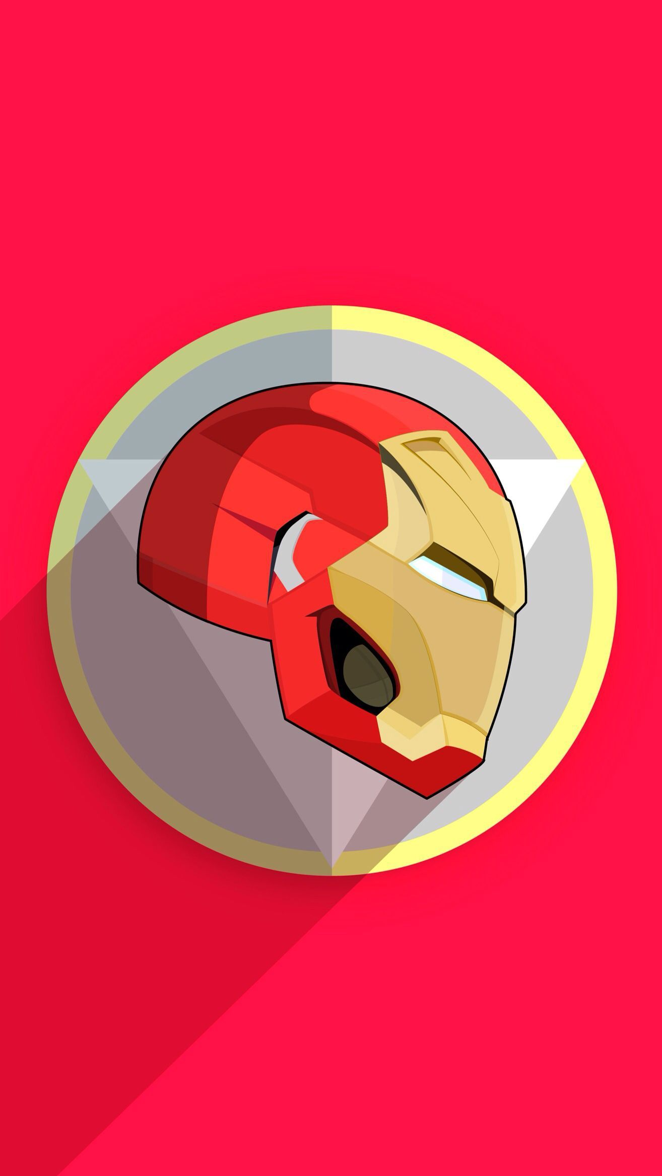 Iron Man Mark 50 Armour Minimal Iphone Wallpaper Iron Man