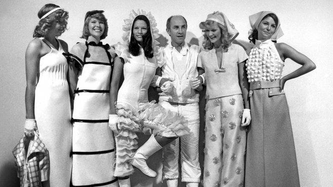 Andre Courreges Famed French Fashion Designer Dies At 92 French Fashion Courreges French Fashion Designers