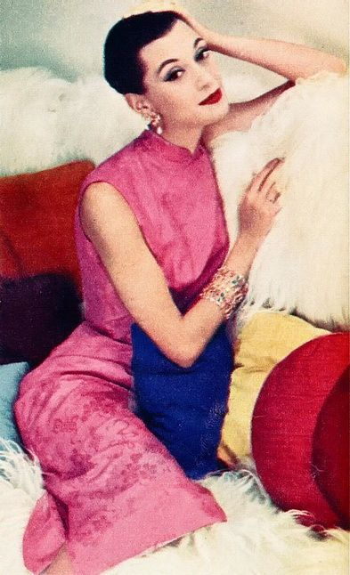 Woman's Home Companion Feb 1956. 1950s fashion