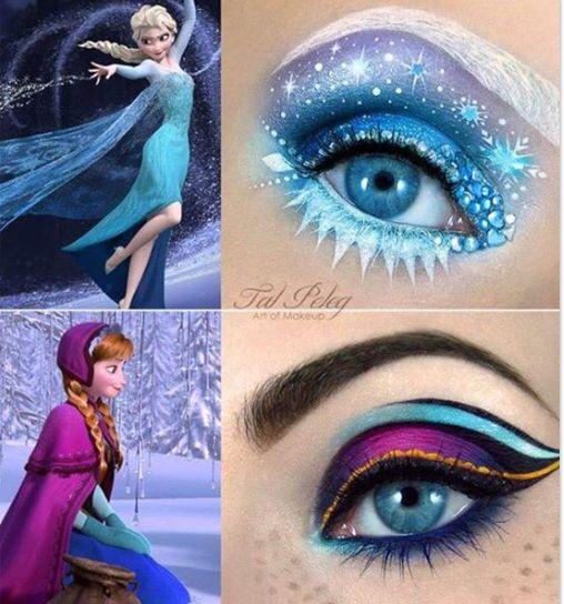 Makeup eyeshadow Disney