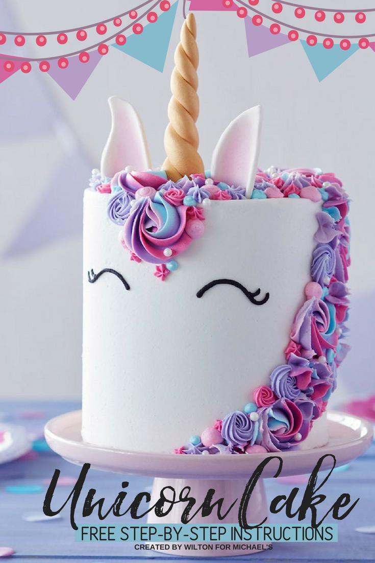 3 Free Unicorn Crafts Cake Decorating Crochet Diy Decor