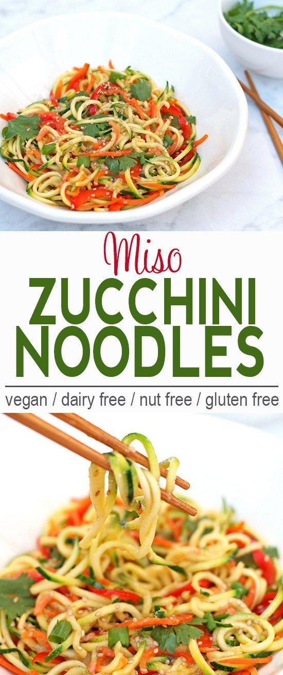 Zucchini Noodles Vegan Recipes