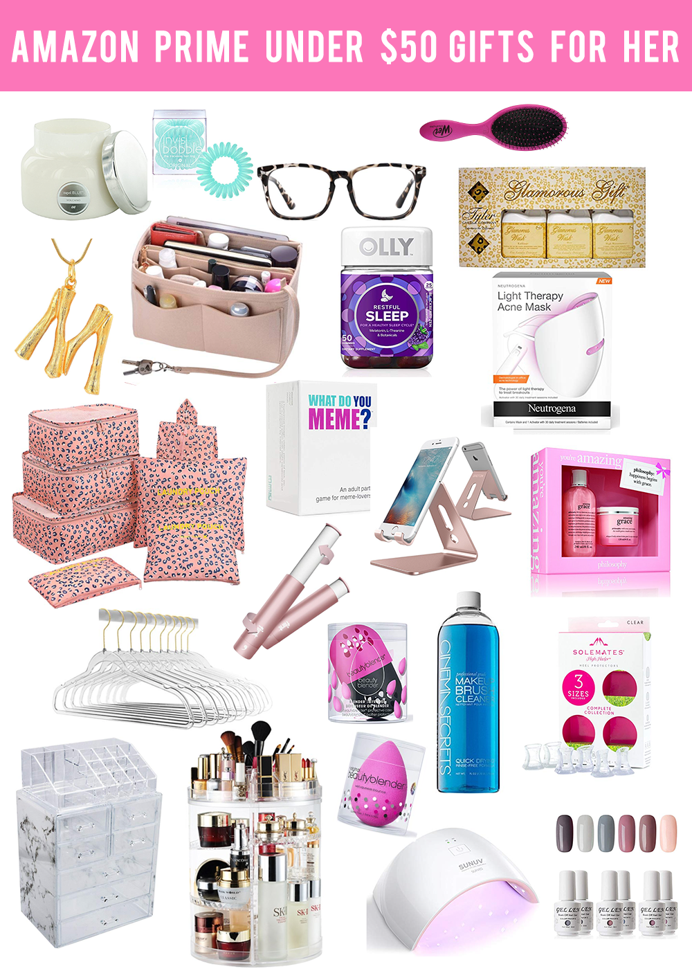 AMAZON PRIME GIFTS FOR HER UNDER $50 | W I N T E R ...