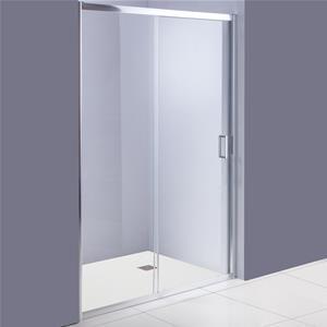 Box doccia nicchia 120 cm scorrevole reversibile in