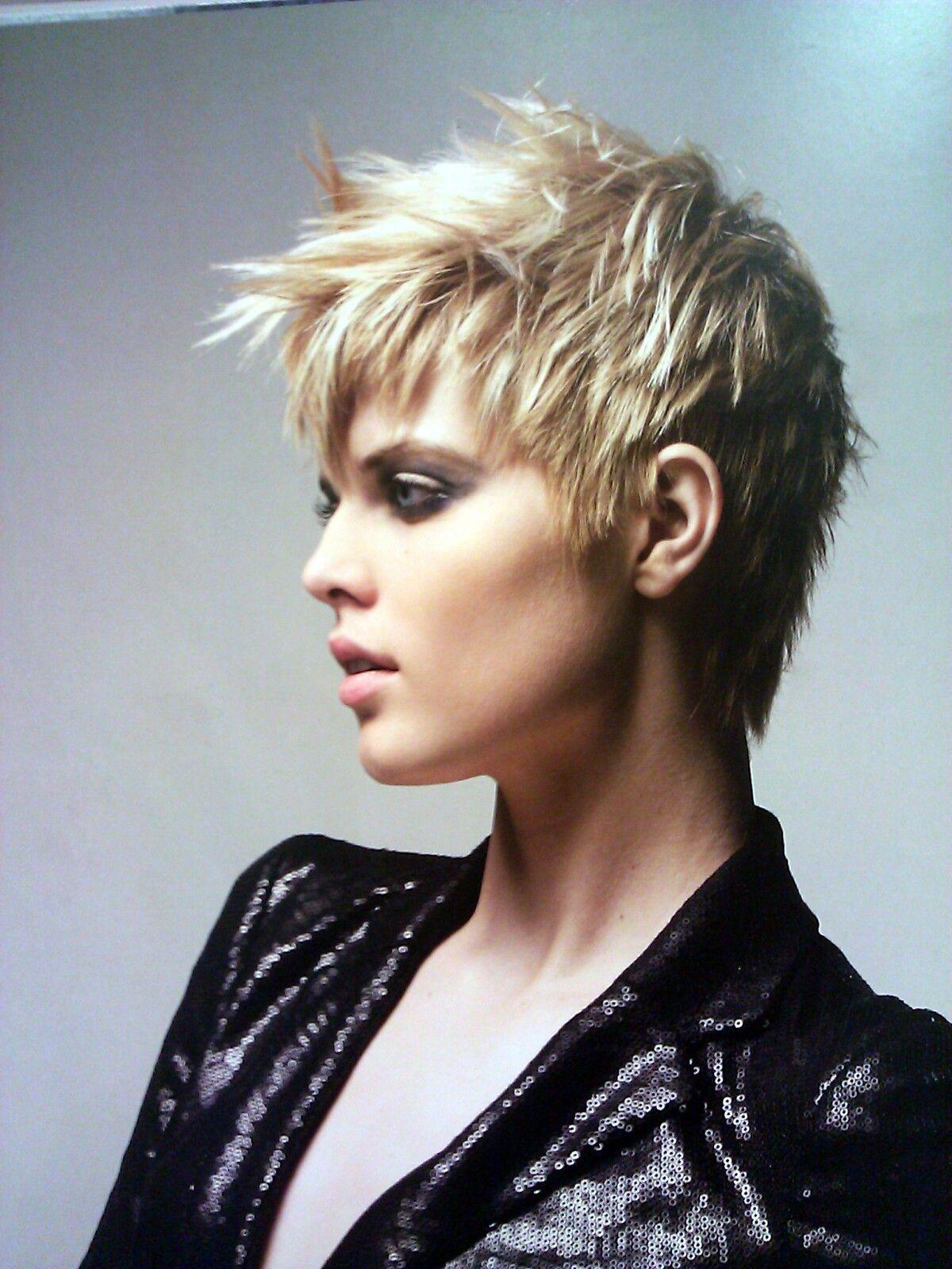 Boy hairstyle in short hair blonde hair toniandguy short womens textured cut  hair