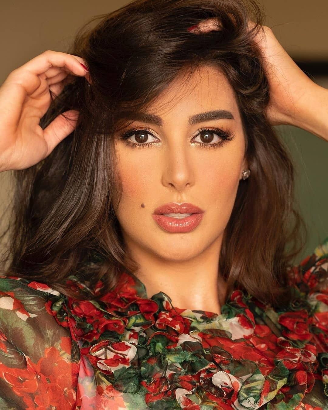 Yasmin Sabry Makeup Beautiful Women Faces Egyptian Actress Instagram Pictures