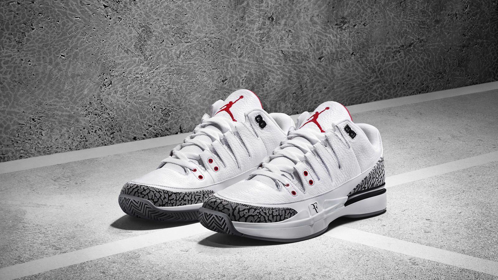 Connecting The Courts: NikeCourt Zoom Vapor AJ3 By Jordan | Air jordans,  Nike tennis shoes, Sneakers men