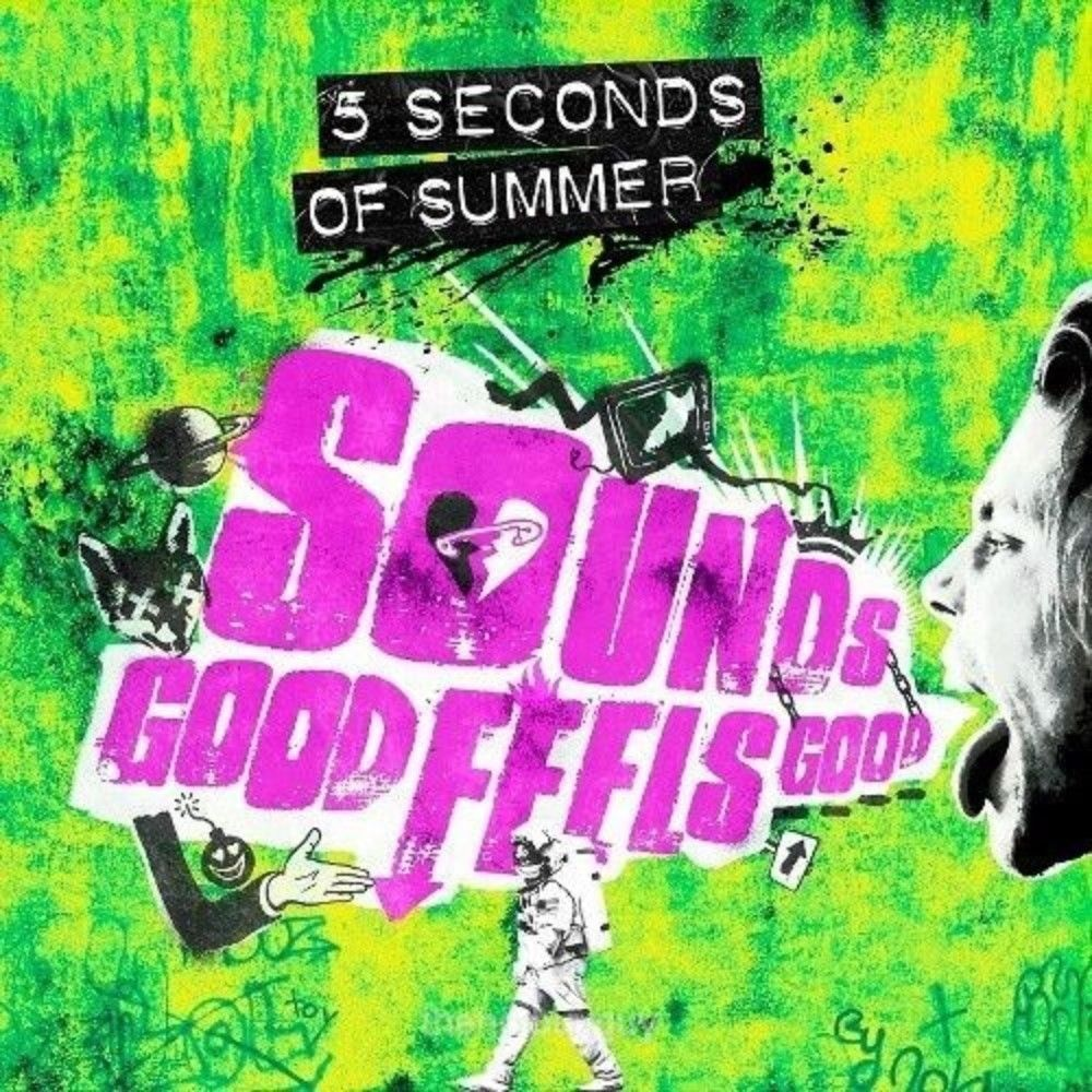 5 Seconds Of Summer Sounds Good Feels Good Target Exclusive Green