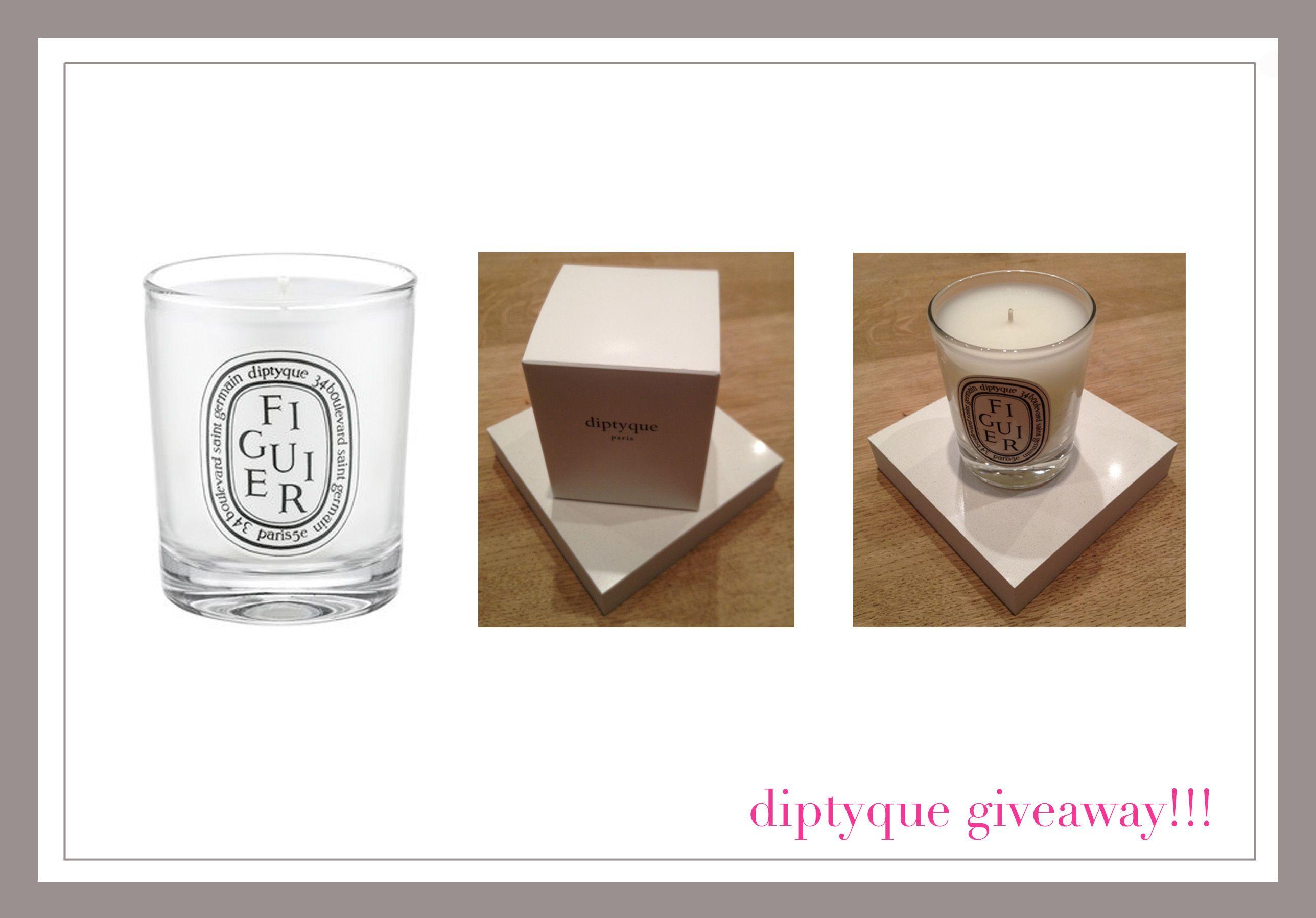 diptyque candle  #bloggiveaway