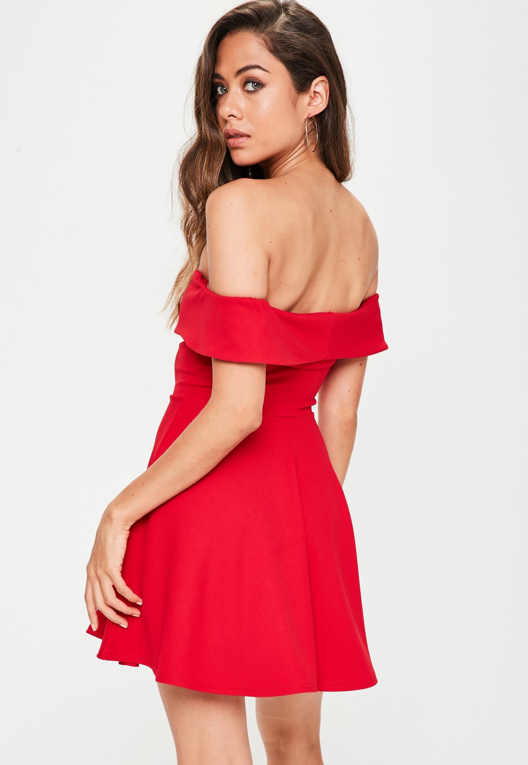 Red dresses petite