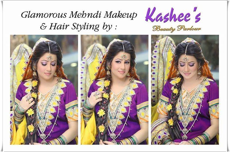 Kashee S Mehndi Makeup : Sheparadise bridal makeup by kashees beauty