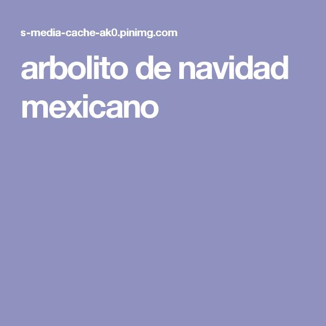 arbolito de navidad mexicano