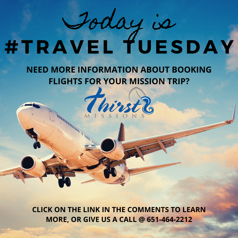 Travel Tuesday Missions Trip Trip Booking Flights