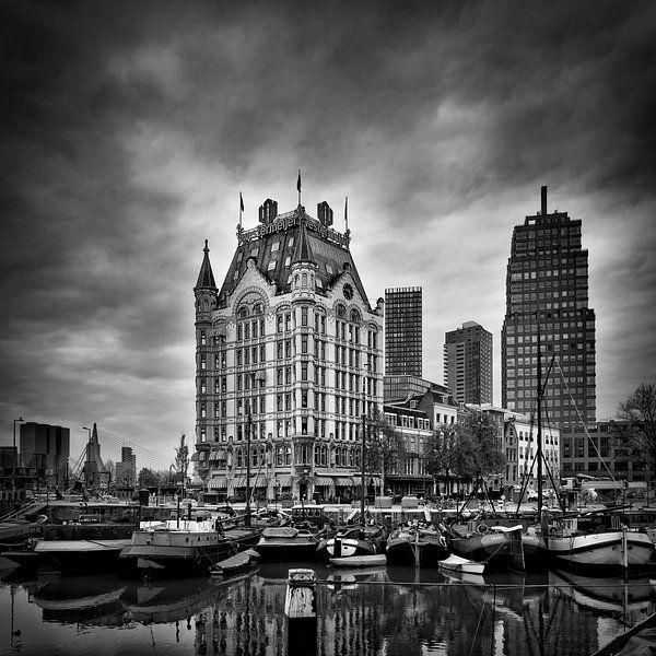 Oude Haven Rotterdam Vierkant Van Prachtig Rotterdam Op