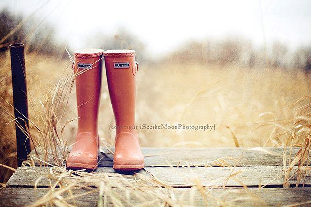 pumpkin boots