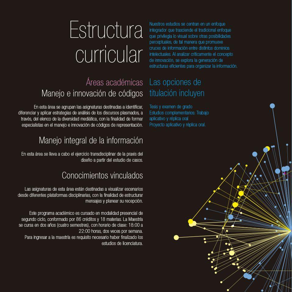 Estructura Curricular áreas Académicas Opciones De