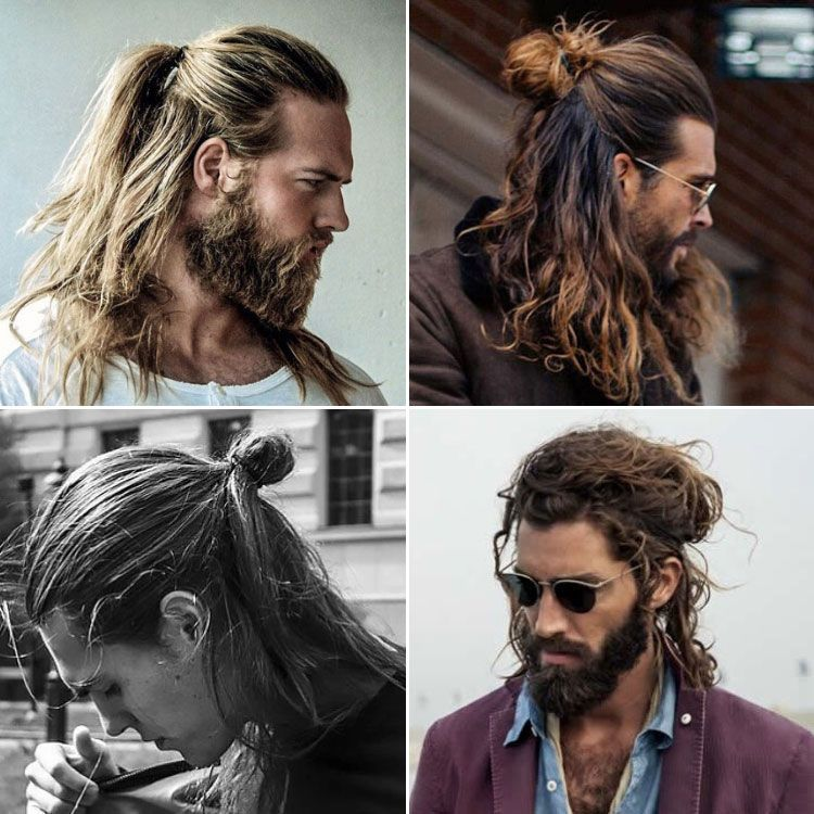 Pin On Long Hairstyles For Men