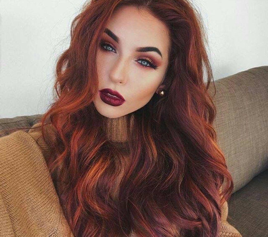 Deep Copper Hair Natural Red Hair Summer Hair Color Hair Color For Women