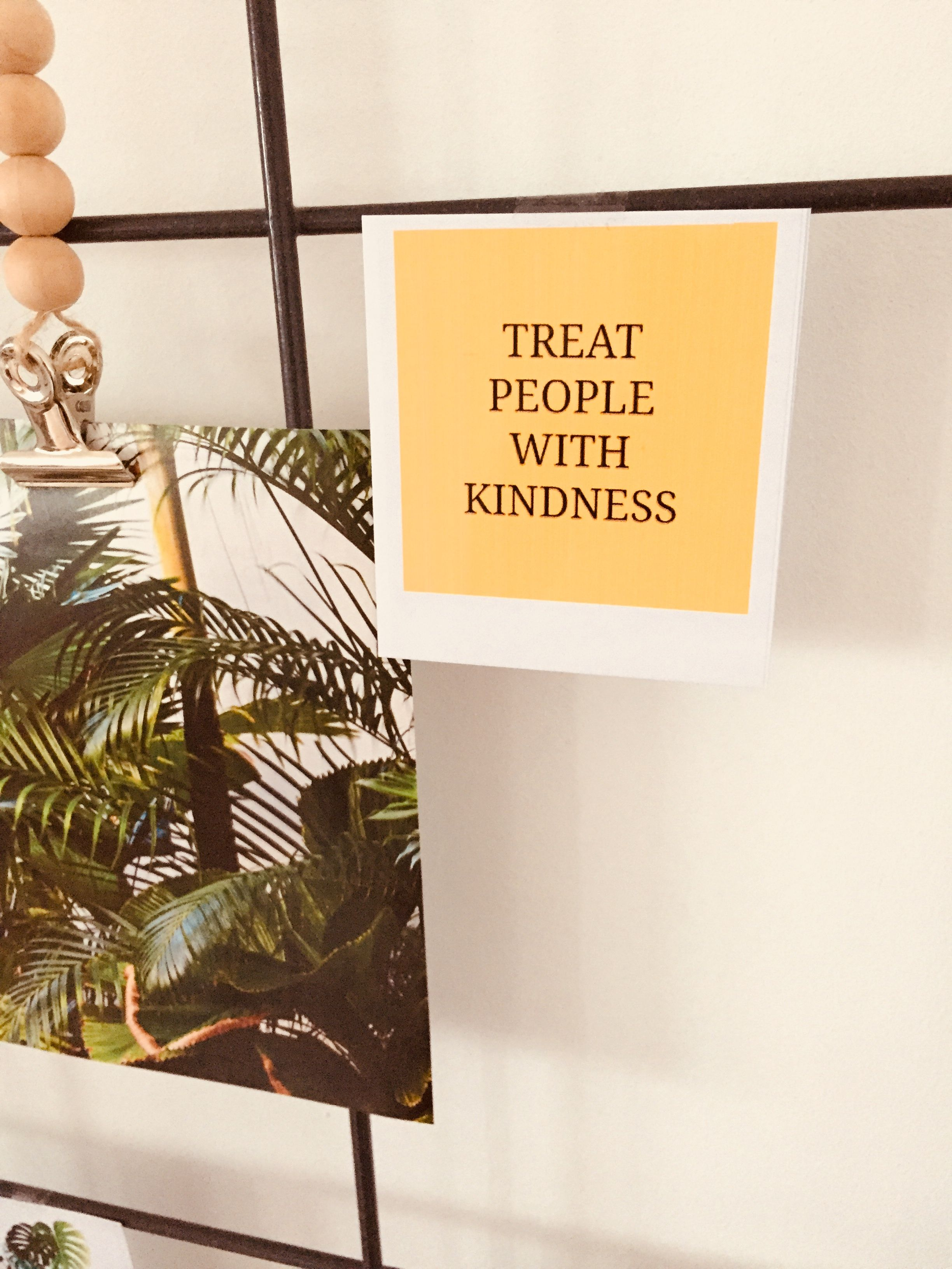 Treat People With Kindness ️ Treat People With Kindness