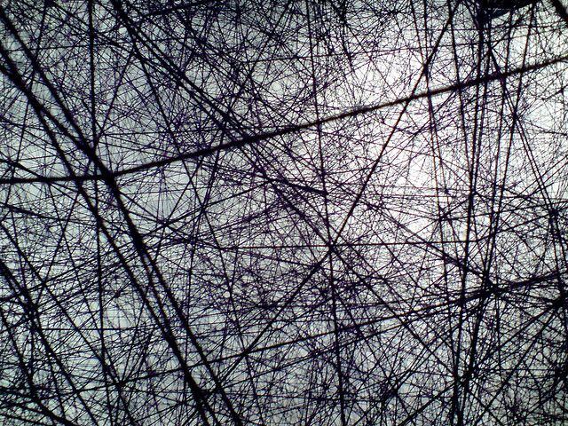 After the Dream - Chiharu Shiota by chameleonic, via Flickr