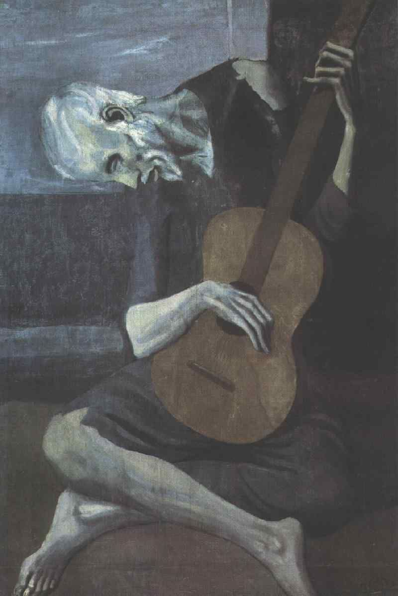 Guitarrista (Picasso). | FOR ARTS SAKE. ✿ | Pinterest ...