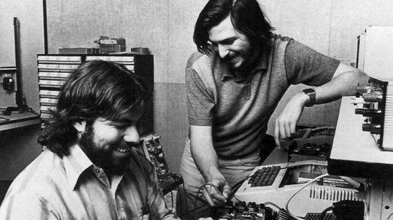 How Apple was founded.  The story of Steve Jobs and Steve Wozniak.