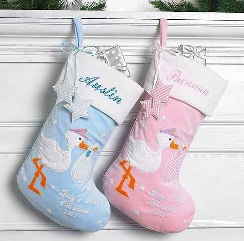 Babys First Christmas Stocking Baby S First Christmas
