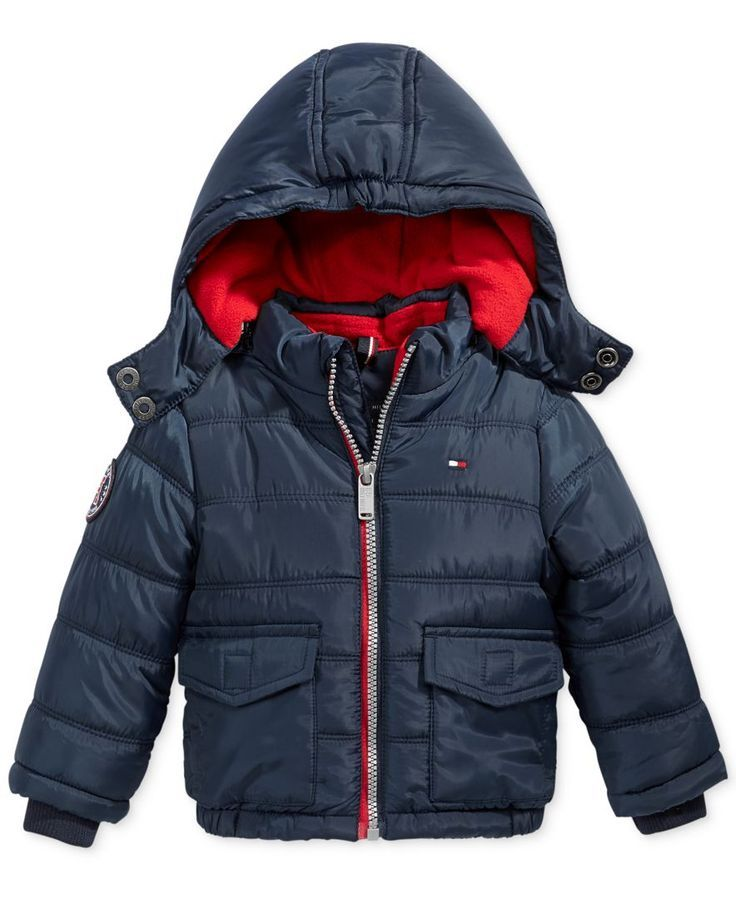 34a28699d Tommy Hilfiger Randy Hooded Puffer Jacket, Baby Boys (0-24 months ...
