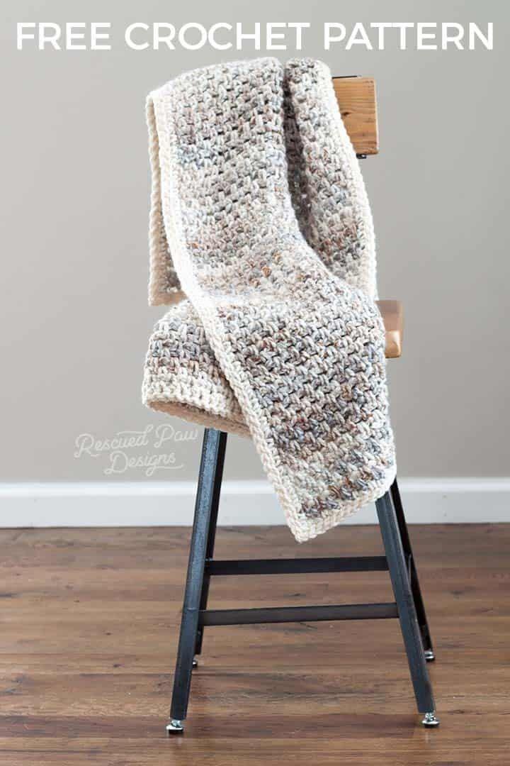 Jane Throw Blanket Pattern - Easy Crochet Blanket | Crochet | Pinterest