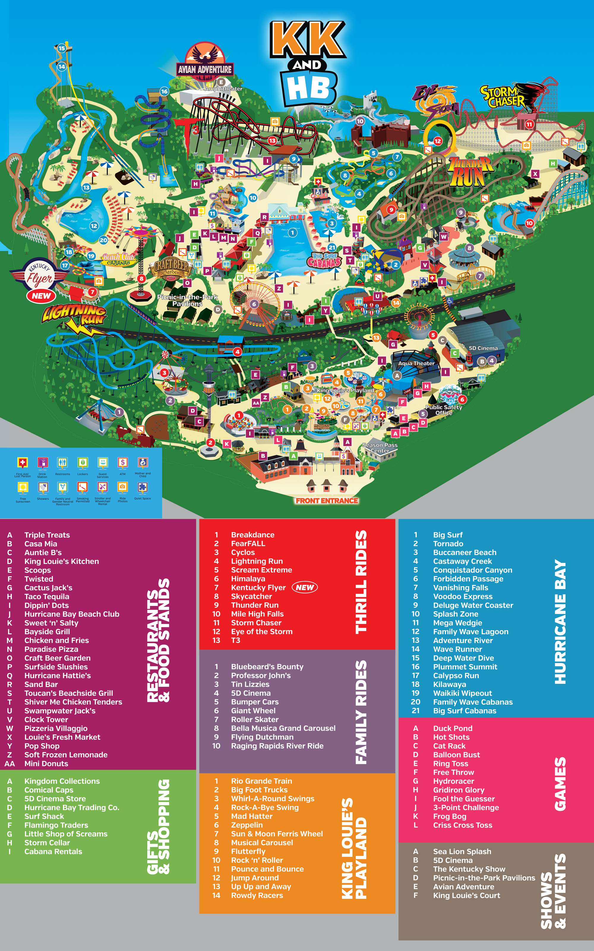 Scout Out Your Journey Through Kentucky Kingdom