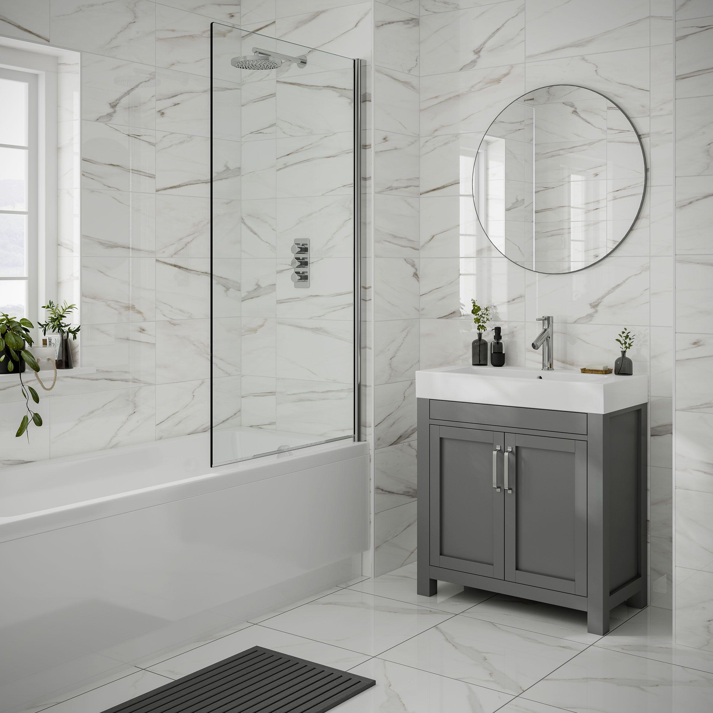 lulworth gloss bathroom wall tile