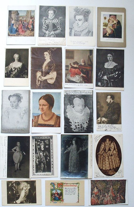 Collection of 34 vintage and antique by Pegskitchenstudio on Etsy, $12.50