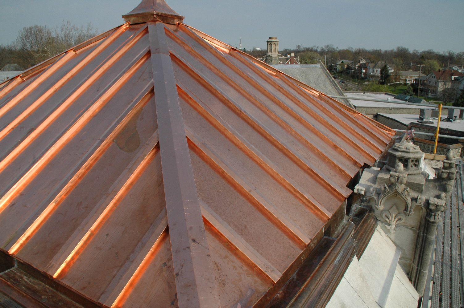 Best Cottage Copper Roofing 2478 Медная Кровля Металлическая Крыша 400 x 300