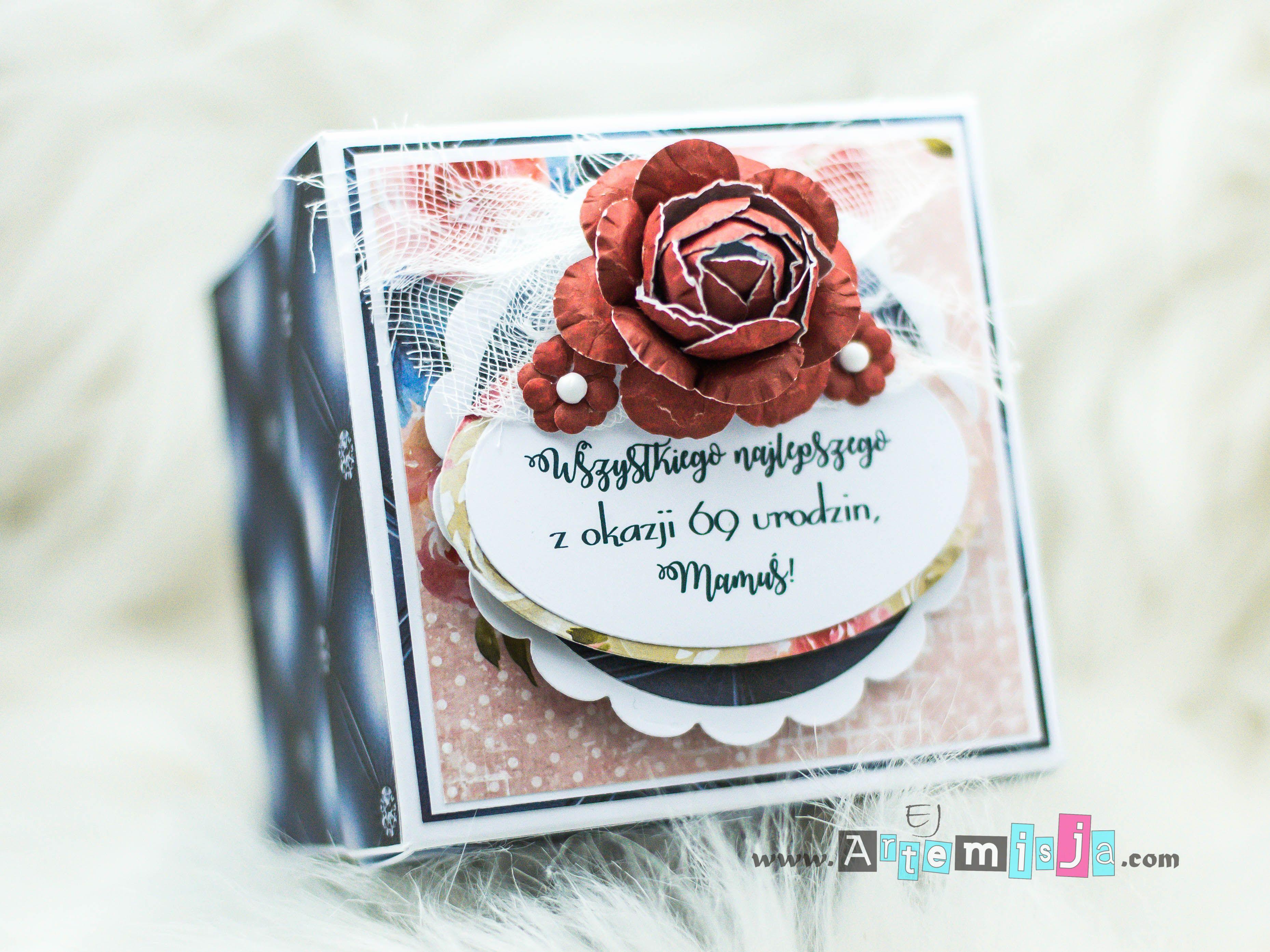 Exploding Box Z Okazji Urodzin Dla Mamy Exploding Box For