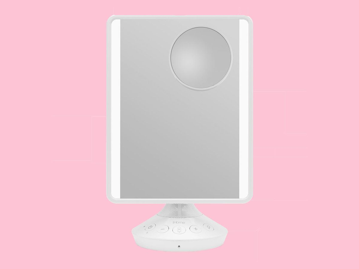 This Makeup Mirror Is Also A Smart Assistant And Speaker Makeup Mirror Ihome Vanity Mirror Mirror