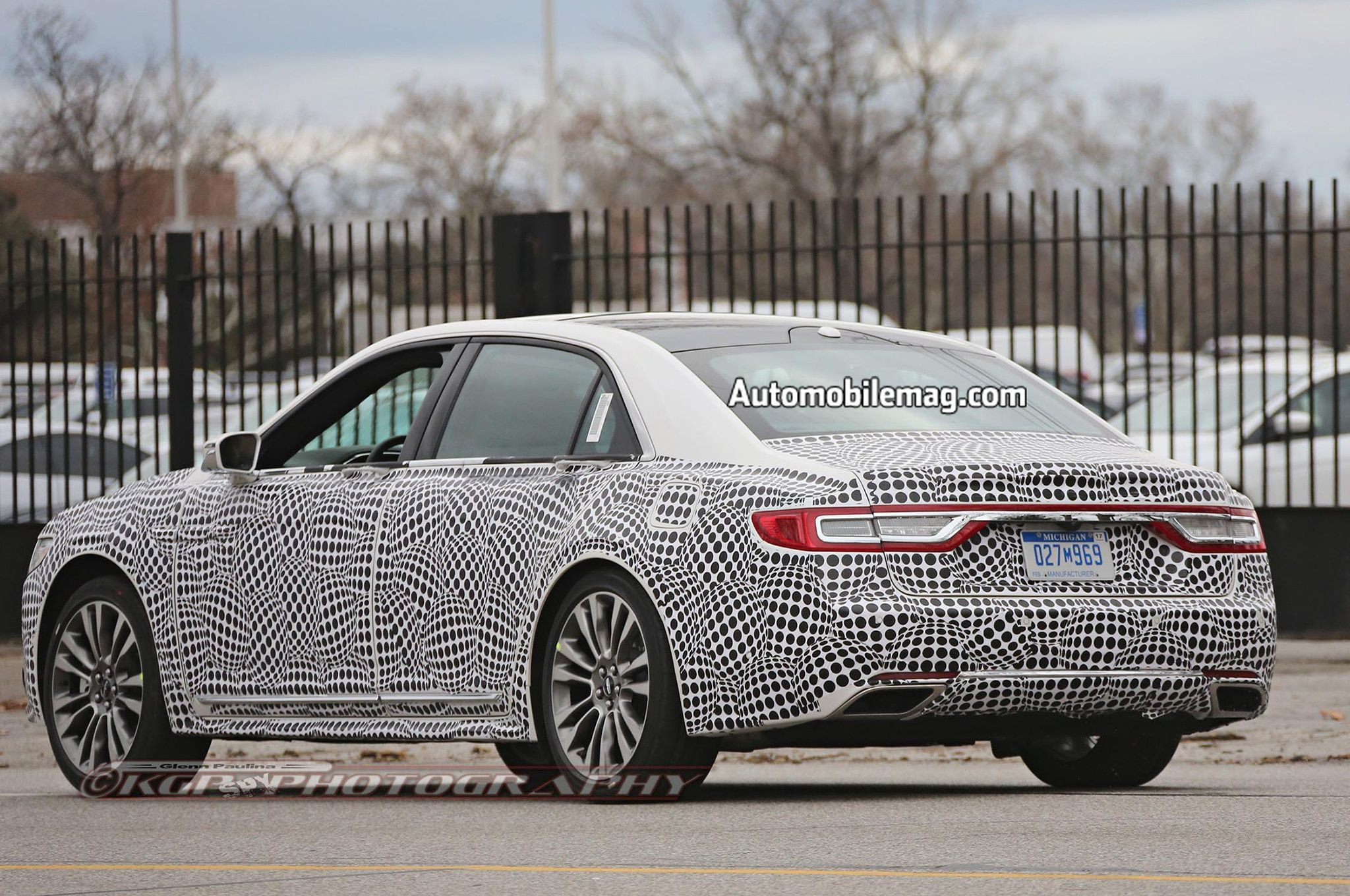 Spy Shots Lincoln Mkz Sedan Ratings