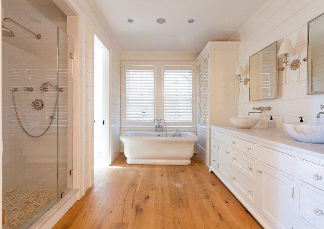 Wood Floor Bathroom Wide Plank Wood Floor Bathroom The Wide Plank Floors In This Bathroom Is Newly Saw Wood Floor Bathroom Beach Theme Bathroom Wood Bathroom