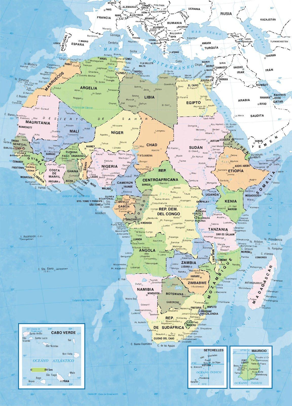 Mapa Egypto