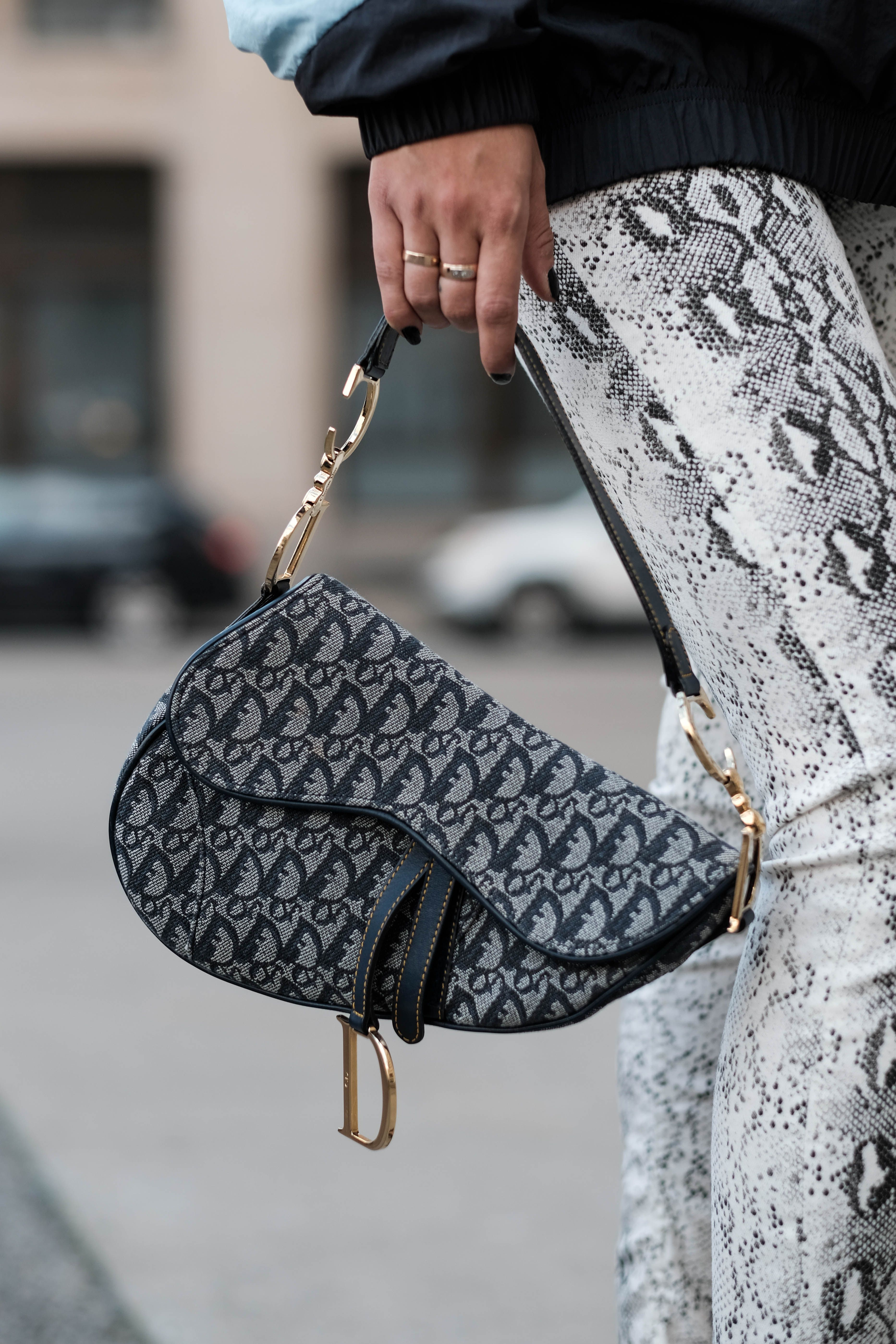 649334643 Forget the diamonds darling, we'll take the Dior Saddle Bag in Vintage  please
