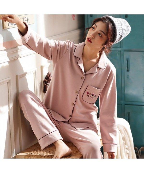 Pure cotton pajamas fresh and lovely cotton pyjamas set  c855b46c4db0