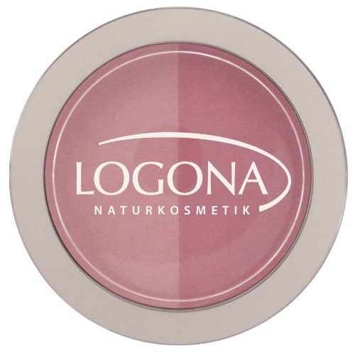 Logona Blush Powder, 0.35 oz (Pink Plus Rose)