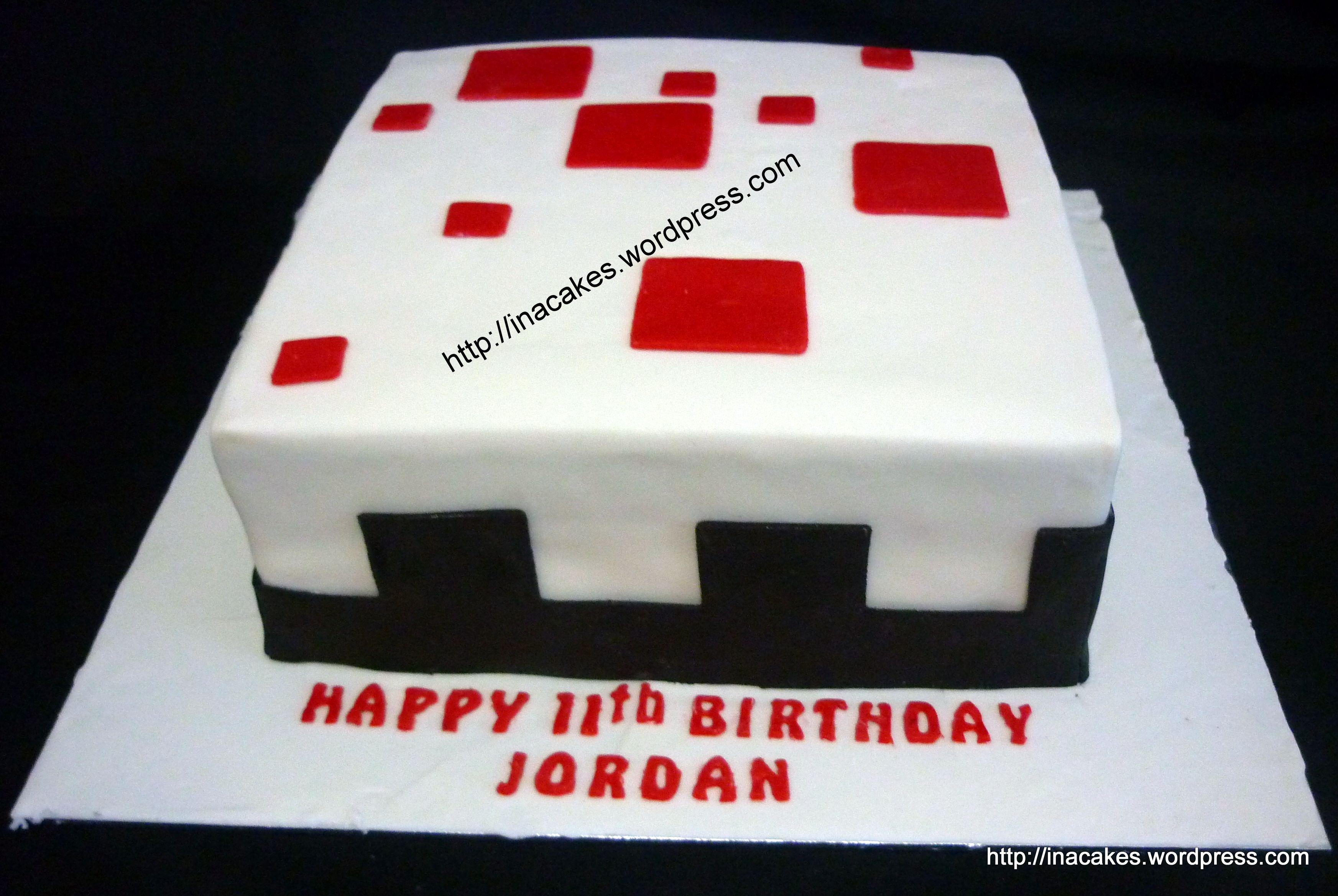 Minecraft Cake Mincraft Party Pinterest Minecraft Cake