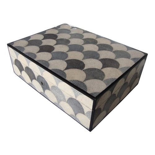 French Shagreen Box. perfect for jewelry
