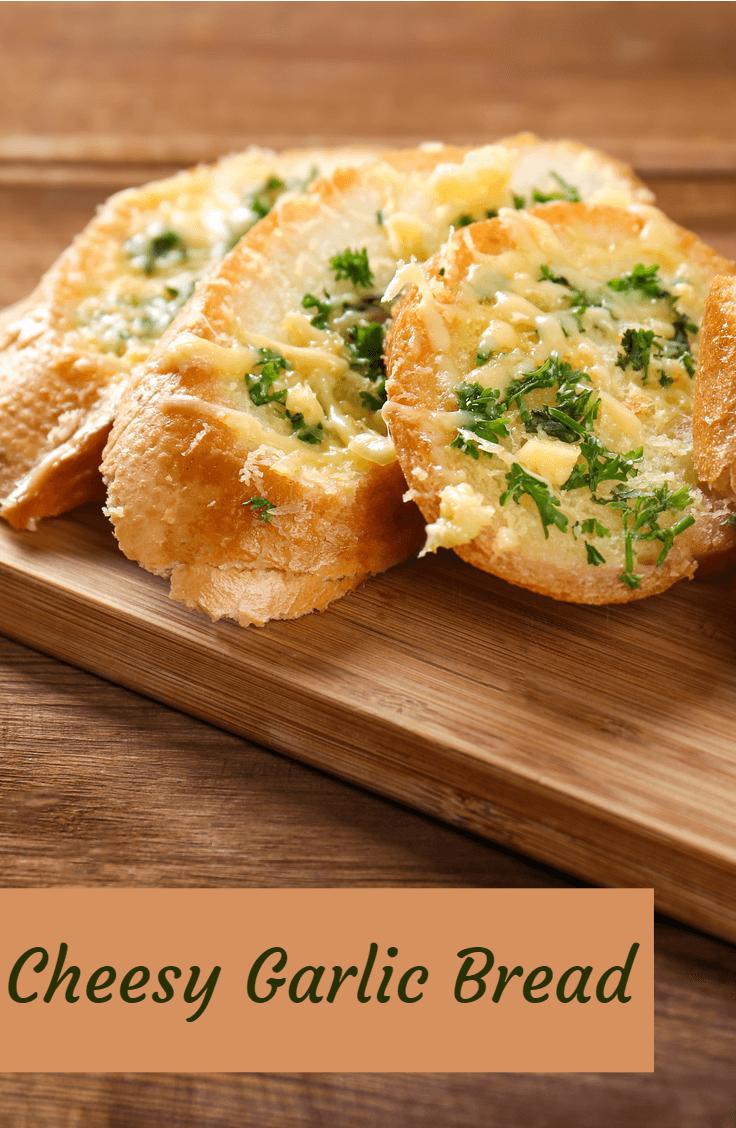 Cheesy Garlic Bread Recipe Garlic Bread Cheesy Garlic Bread Bread
